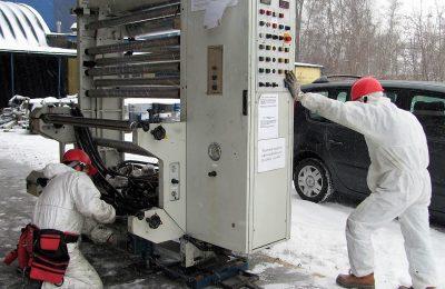Sicherer Fabrik- & Maschinenumzug