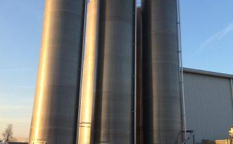 Jede gebrauchte Aluminium Silo- Einkauf ab 75m3 (z.B. 80 m3, 100m3, 120 m3)